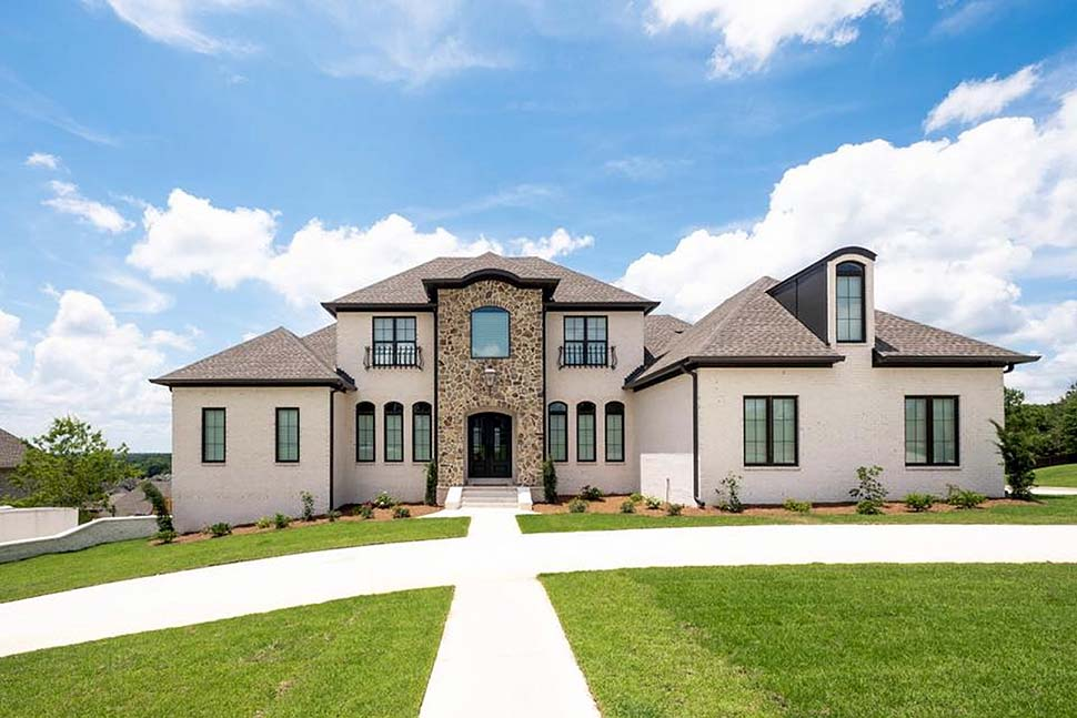 European, Florida, Mediterranean House Plan 78506 with 5 Beds, 5 Baths, 4 Car Garage Elevation