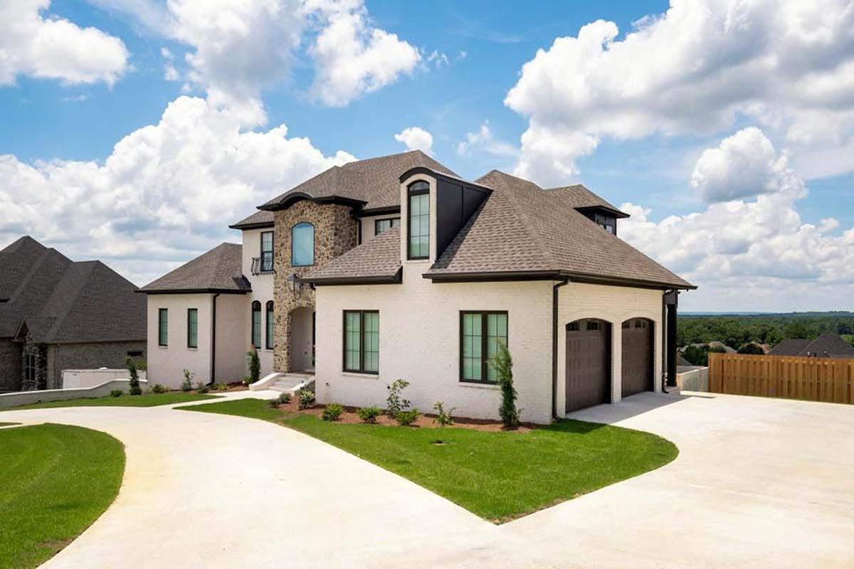 European, Florida, Mediterranean House Plan 78506 with 5 Beds, 5 Baths, 4 Car Garage Picture 1