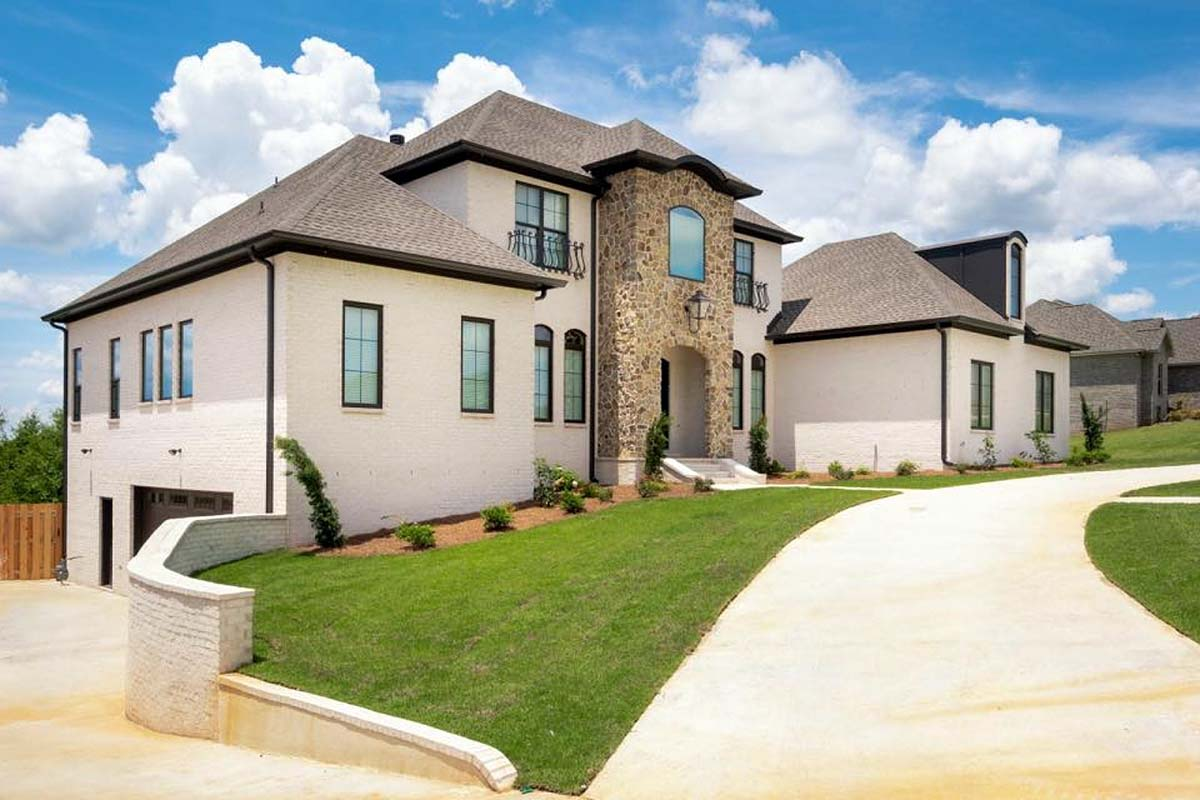 European, Florida, Mediterranean House Plan 78506 with 5 Beds, 5 Baths, 4 Car Garage Picture 2