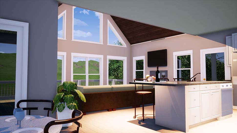 Bungalow, Coastal, Craftsman, Farmhouse, Traditional House Plan 78508 with 4 Beds, 3 Baths Picture 1