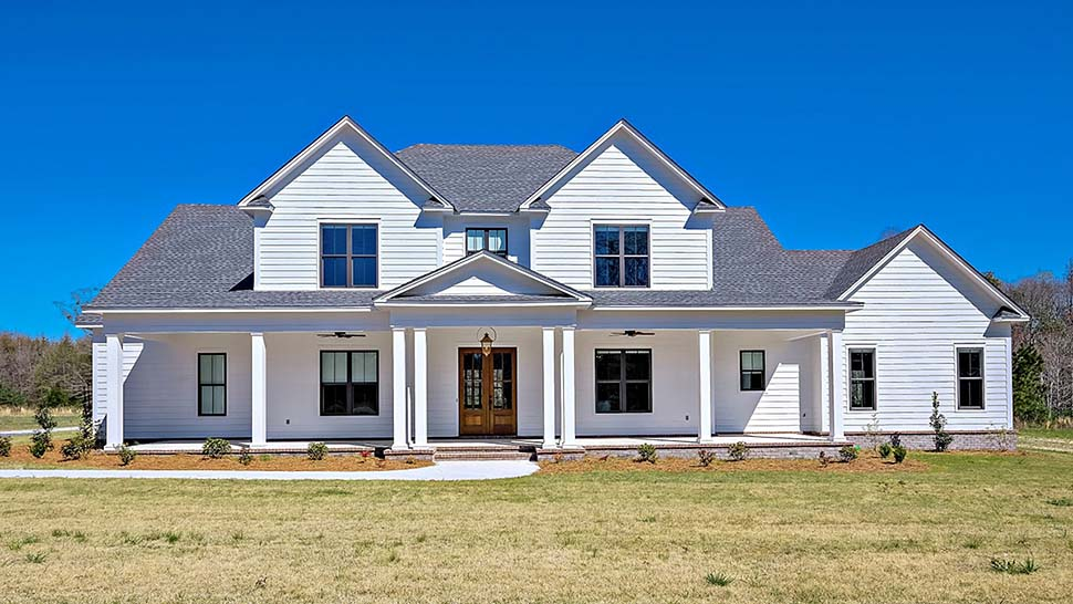 Country Farmhouse Traditional Elevation of Plan 78511