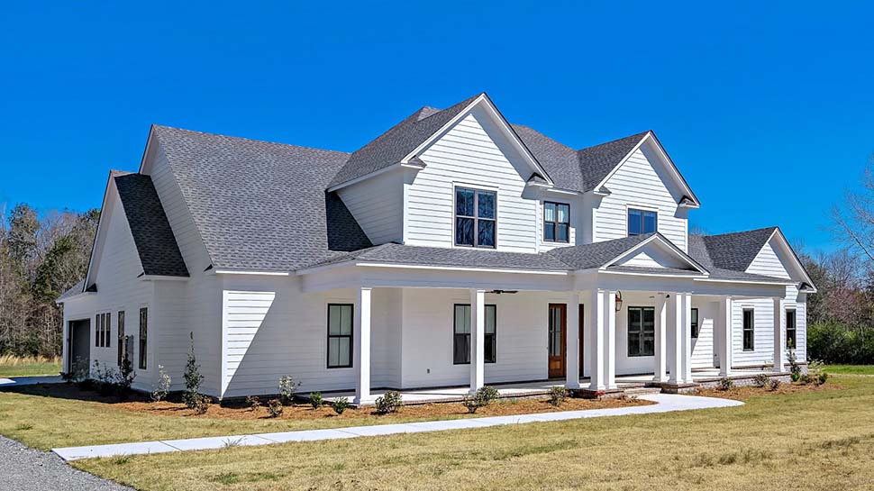 Country, Farmhouse, Traditional House Plan 78511 with 4 Beds, 5 Baths, 2 Car Garage Picture 3