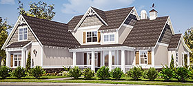 European , Traditional House Plan 78512 with 3 Beds, 3 Baths, 2 Car Garage Elevation