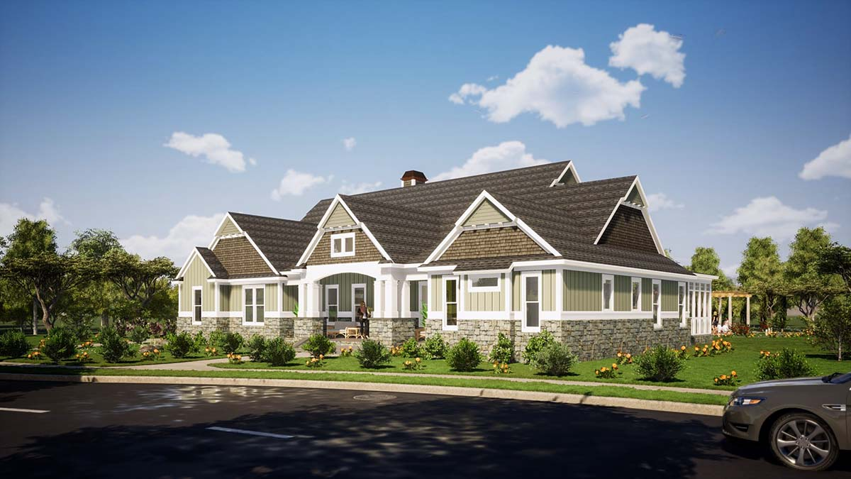 Farmhouse, Traditional House Plan 78515 with 3 Beds, 3 Baths, 3 Car Garage Picture 1