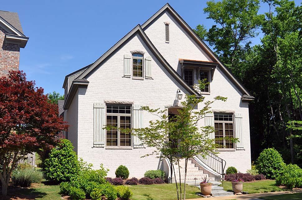 Bungalow , Cottage , Craftsman , European , Tudor House Plan 78516 with 3 Beds, 3 Baths, 2 Car Garage Elevation