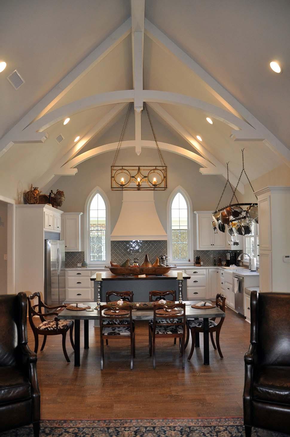 Bungalow, Cottage, Craftsman, European, Tudor House Plan 78516 with 3 Beds, 3 Baths, 2 Car Garage Picture 4