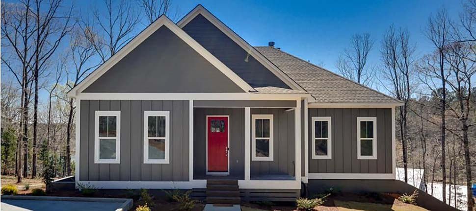 Bungalow , Coastal , Craftsman , Traditional House Plan 78517 with 4 Beds, 4 Baths Elevation