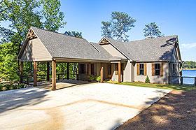 Bungalow , Coastal , Craftsman , Traditional House Plan 78518 with 5 Beds, 4 Baths, 2 Car Garage Elevation