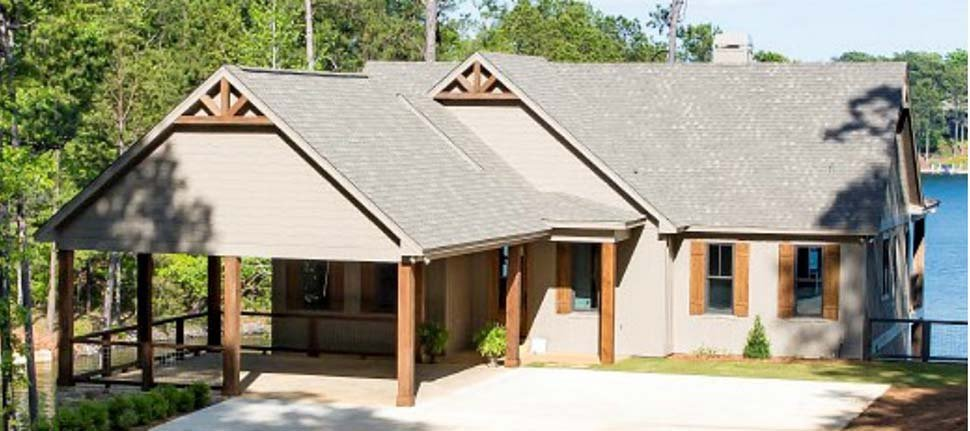 Bungalow, Coastal, Craftsman, Traditional House Plan 78518 with 5 Beds, 4 Baths, 2 Car Garage Picture 1