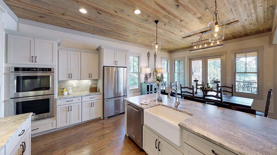 Bungalow, Coastal, Craftsman, Traditional House Plan 78518 with 5 Beds, 4 Baths, 2 Car Garage Picture 13