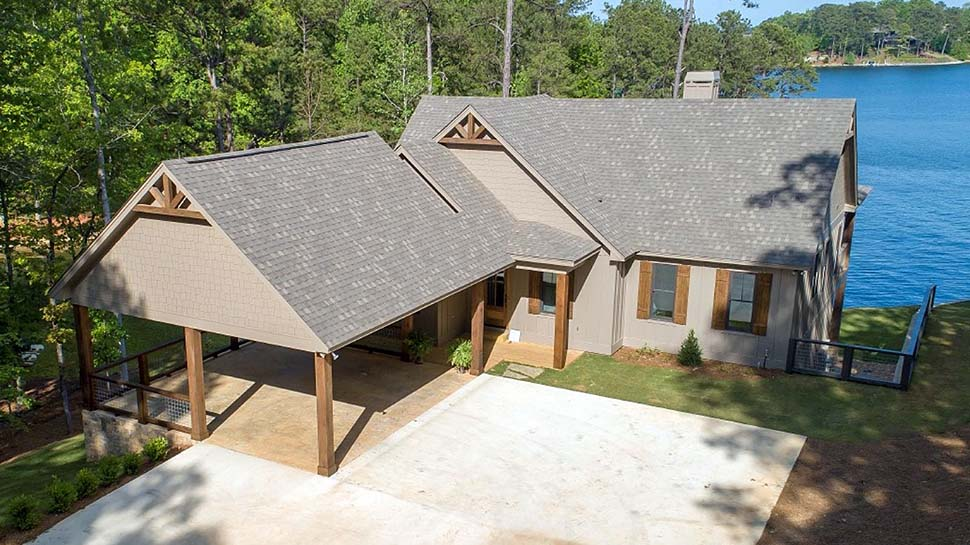 Bungalow, Coastal, Craftsman, Traditional House Plan 78518 with 5 Beds, 4 Baths, 2 Car Garage Picture 2