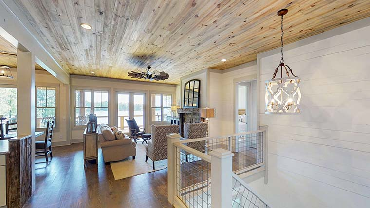 Bungalow, Coastal, Craftsman, Traditional House Plan 78518 with 5 Beds, 4 Baths, 2 Car Garage Picture 5
