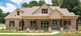 Bungalow , Country , Craftsman , Farmhouse , Traditional House Plan 78522 with 4 Beds, 3 Baths, 2 Car Garage Elevation