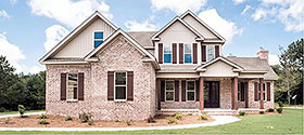 Farmhouse , Ranch , Traditional House Plan 78523 with 4 Beds, 3 Baths, 2 Car Garage Elevation
