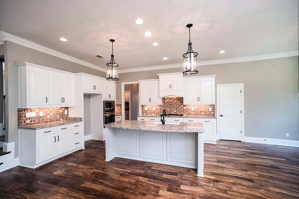 Farmhouse, Ranch, Traditional House Plan 78523 with 4 Beds, 3 Baths, 2 Car Garage Picture 3