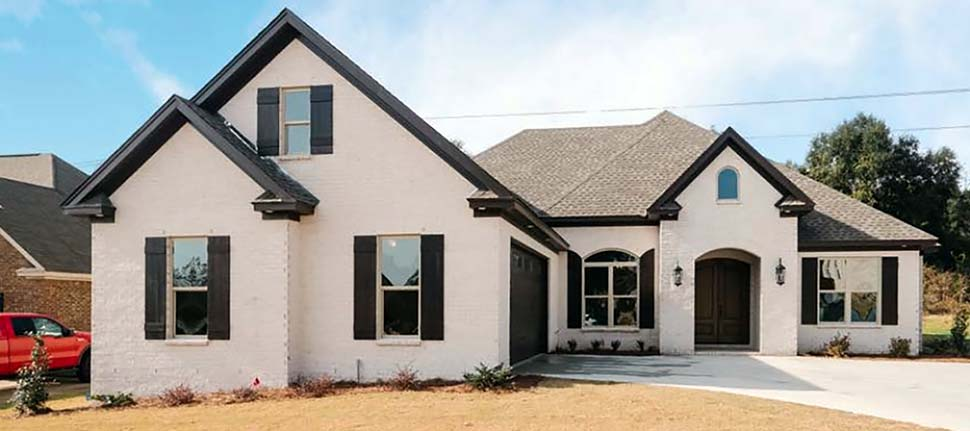 Traditional House Plan 78527 with 4 Beds, 3 Baths, 2 Car Garage Elevation