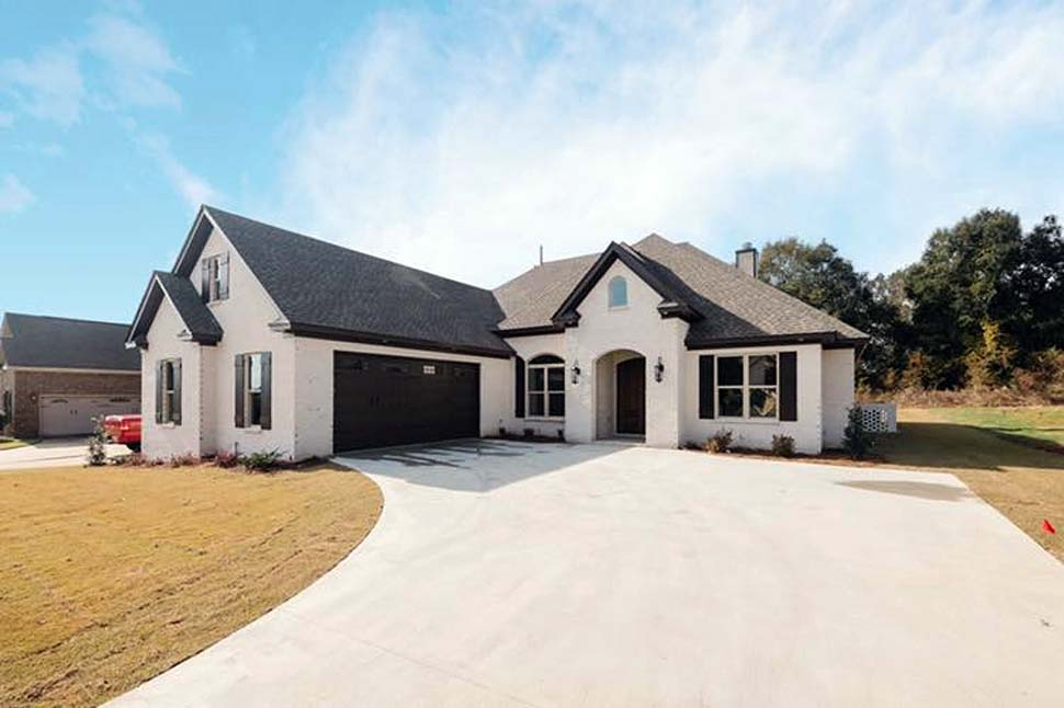 Traditional House Plan 78527 with 4 Beds, 3 Baths, 2 Car Garage Picture 1