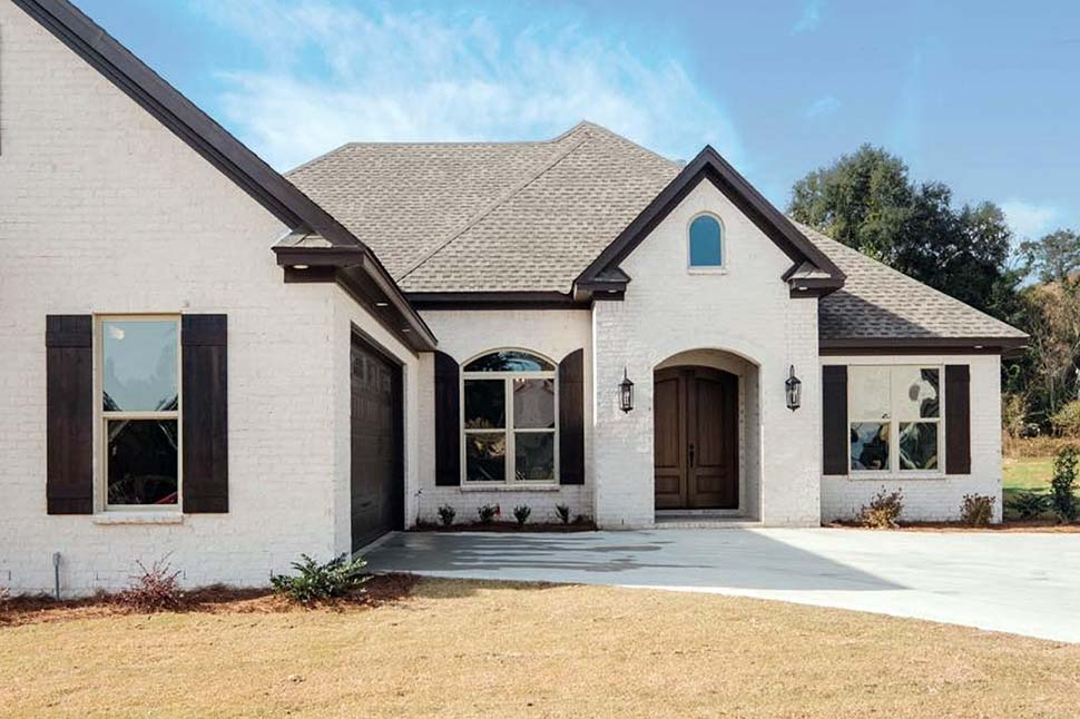 Traditional House Plan 78527 with 4 Beds, 3 Baths, 2 Car Garage Picture 2