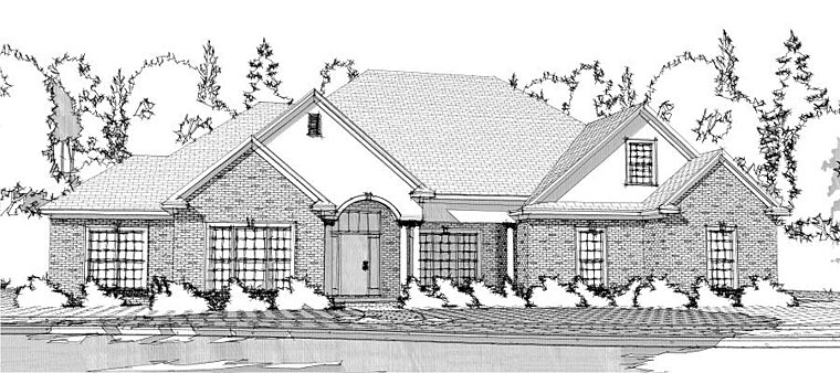 Traditional House Plan 78607 Elevation