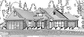 European Traditional House Plan 78608 Elevation