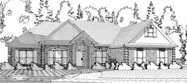 House Plan 78610 Elevation
