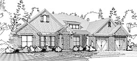 Traditional House Plan 78612 Elevation