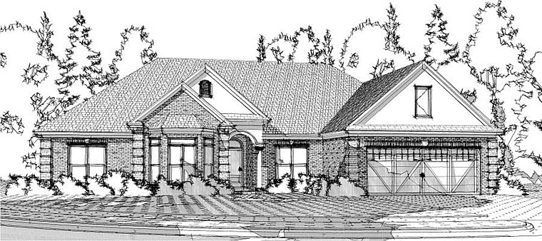 Traditional House Plan 78614 Elevation