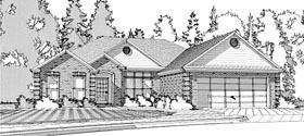 European Traditional House Plan 78617 Elevation