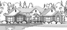 European House Plan 78618 Elevation