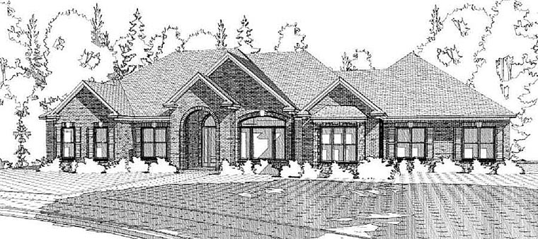House Plan 78619 Elevation