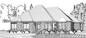Contemporary European House Plan 78620 Elevation