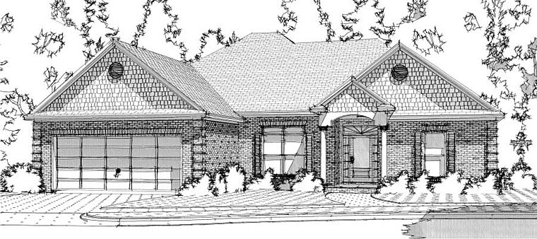 Traditional House Plan 78624 Elevation