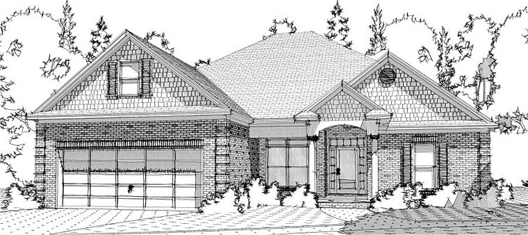 Traditional House Plan 78625 Elevation