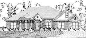 Victorian , European House Plan 78628 with 4 Beds, 3 Baths, 2 Car Garage Elevation