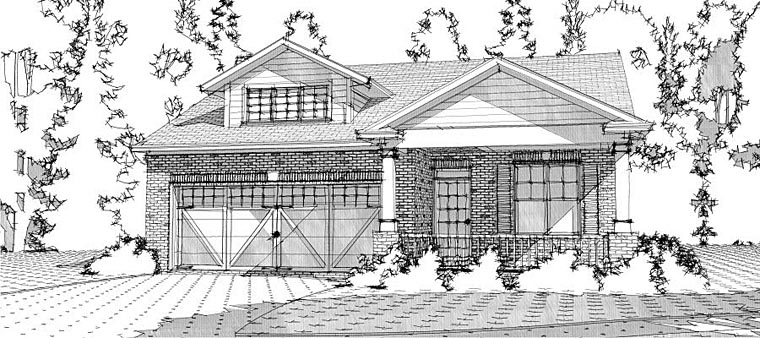 Bungalow Cottage Country Traditional House Plan 78633 Elevation