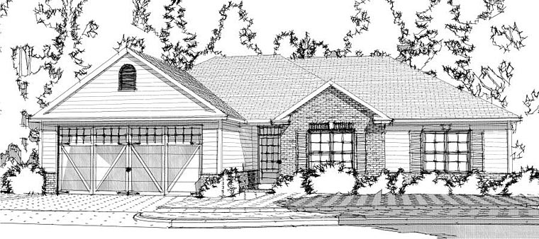 Traditional House Plan 78636 Elevation