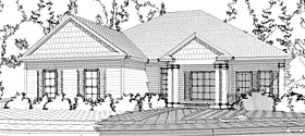 Colonial Traditional House Plan 78638 Elevation