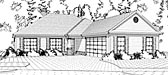 Plan Number 78646 - 1850 Square Feet