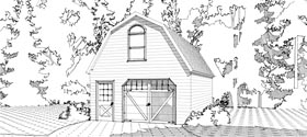 Garage Plan 78662 Elevation