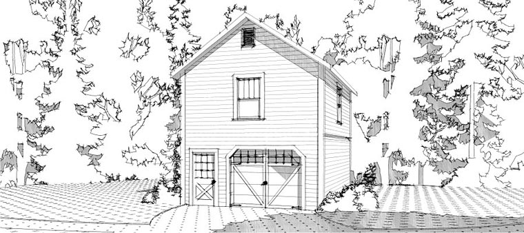 Garage Plan 78664 Elevation