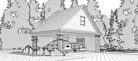 Garage Plan 78665 Elevation