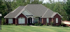 Traditional House Plan 78701 with 4 Beds, 2 Baths, 2 Car Garage Elevation