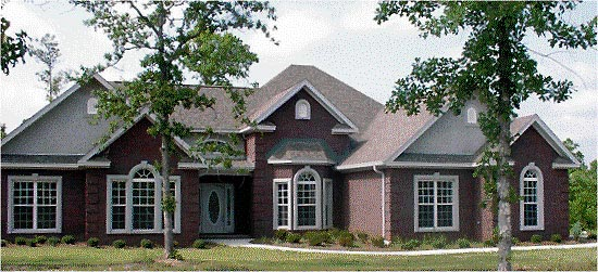 Traditional House Plan 78702 Elevation