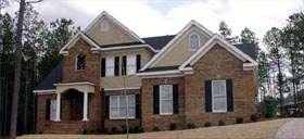 Traditional House Plan 78703 with 4 Beds, 3 Baths, 2 Car Garage Elevation