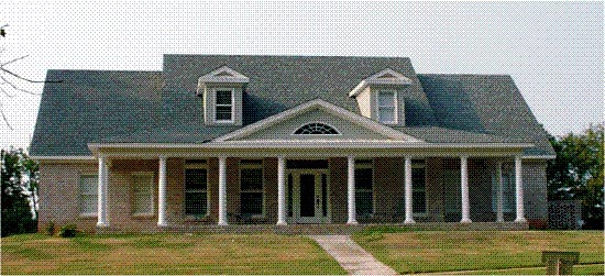Colonial House Plan 78704 Elevation