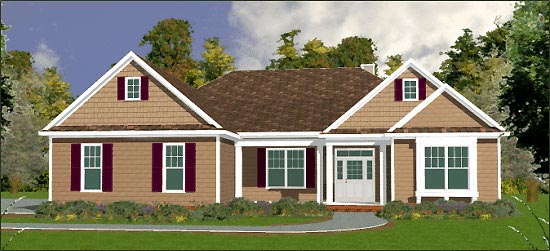 Traditional House Plan 78706 Elevation