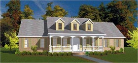 Cape Cod House Plan 78707 Elevation