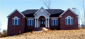 Traditional House Plan 78708 Elevation