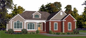 Traditional House Plan 78710 Elevation