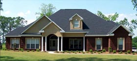 House Plan 78717 | Traditional Style Plan with 2785 Sq Ft, 2 Bedrooms, 3 Bathrooms, 2 Car Garage Elevation
